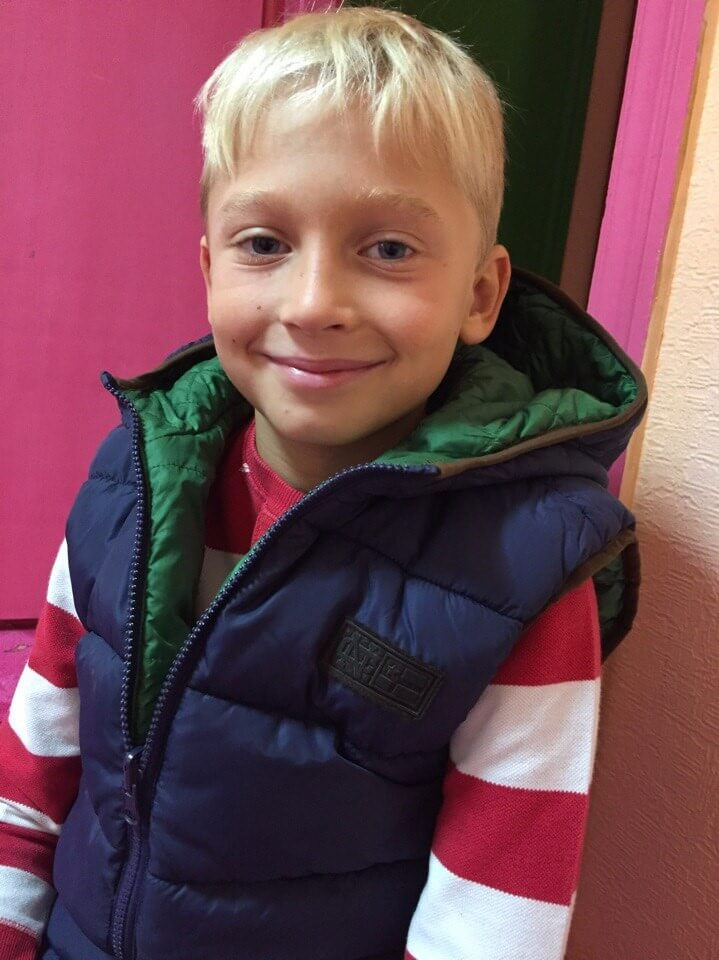 Всеволод Іщенко, 8 років.