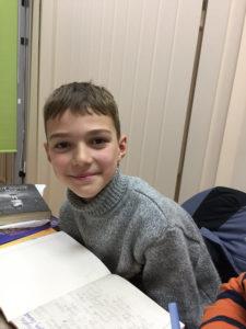Ілля, 8 років.