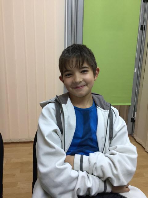 Міша, 10 років.
